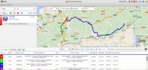 itinerario, gps, satelite, novatronica, infoser