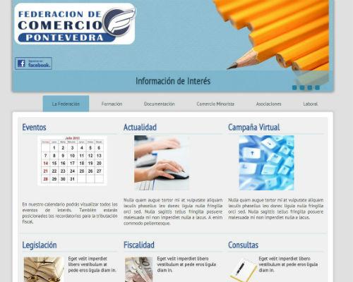 Federación de Comercio de Pontevedra