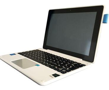 portatil, tablet, con puntero, táctil